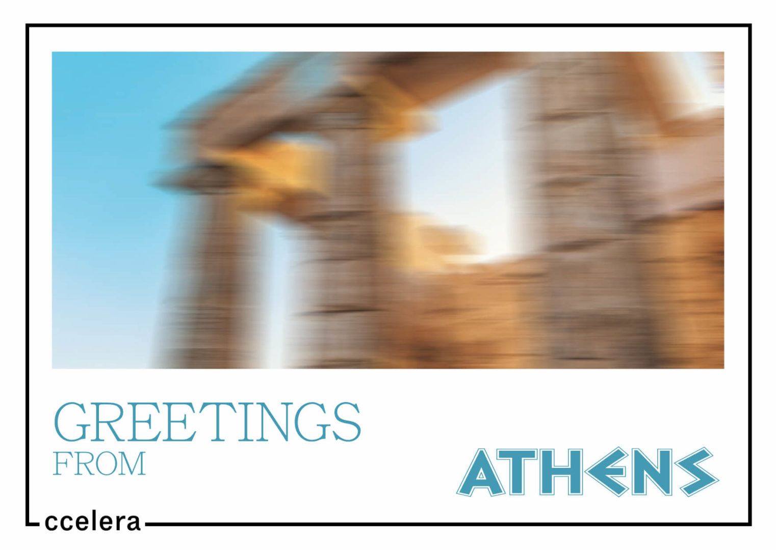a postcard from athens